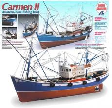 Maquetas de barcos de pesca